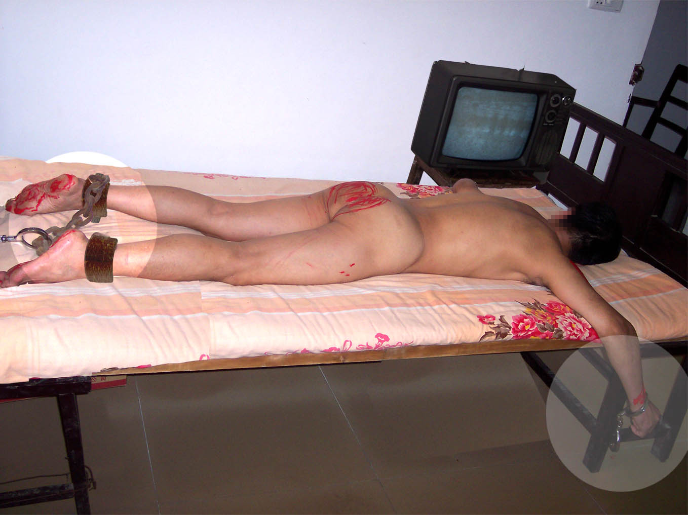 Handcuffed to bed sex well understand